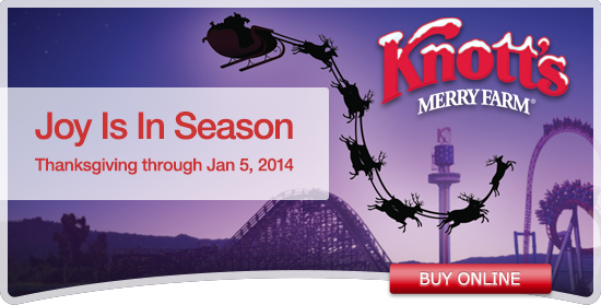 Give a Knott's Berry Farm 2014 Regular Season Pass